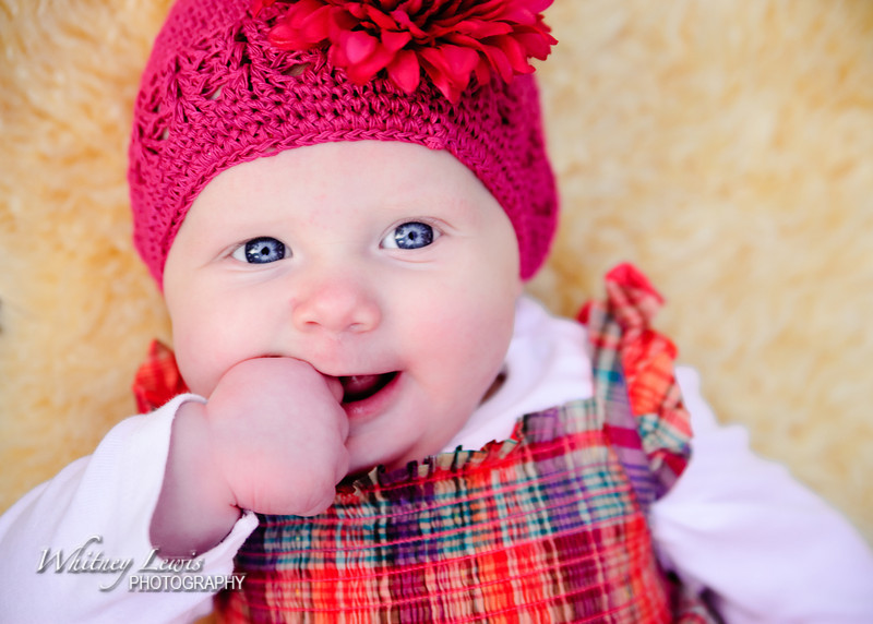 Utah Infant Photography with Zoey and Family