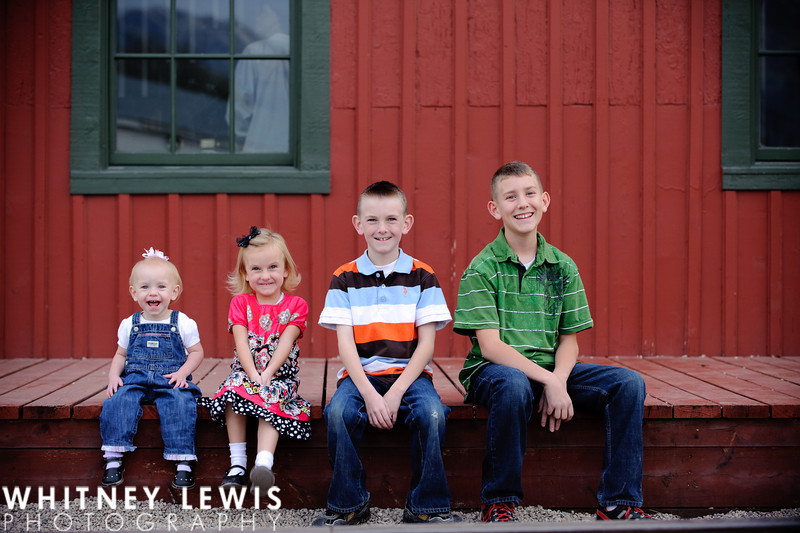 Utah Family Portrait Photography for the Bryant Kids