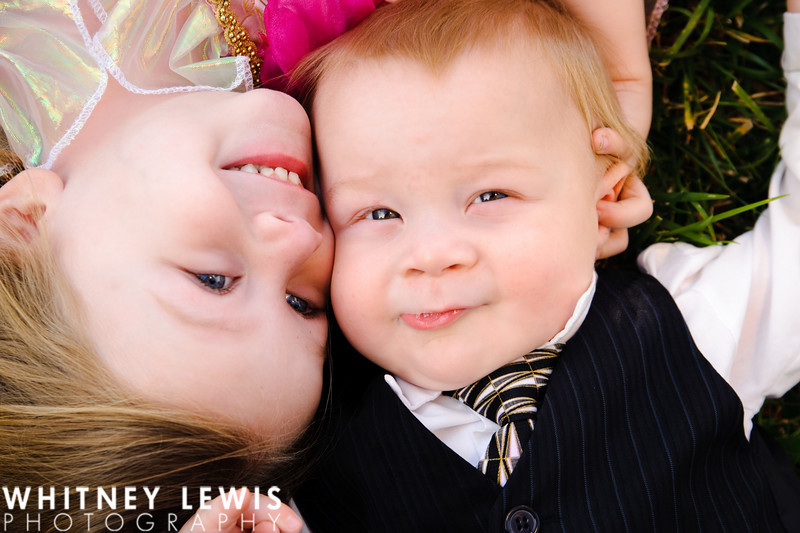 Becky and Michael, California children photography