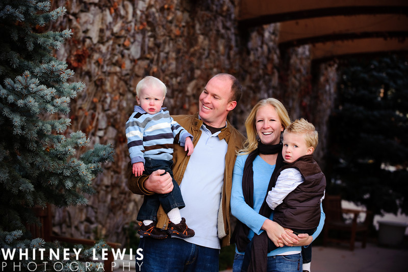 Cold weather family photos, Orem UT