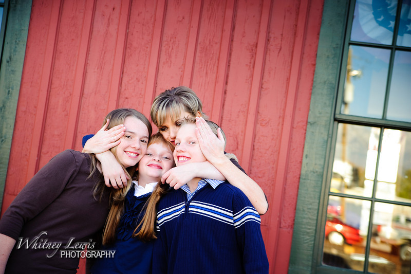 Family Portraits at Da Vinci Doors, Lehi Utah
