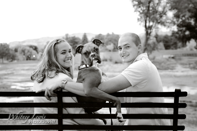 Family and dog photography in Liberty Park, SLC UT