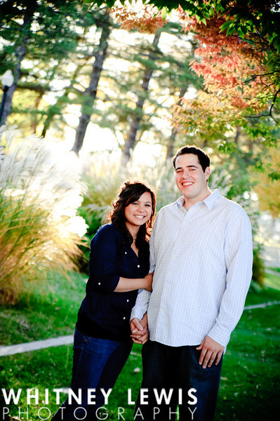 Sale Lake City Engagement Pics- Liberty Park
