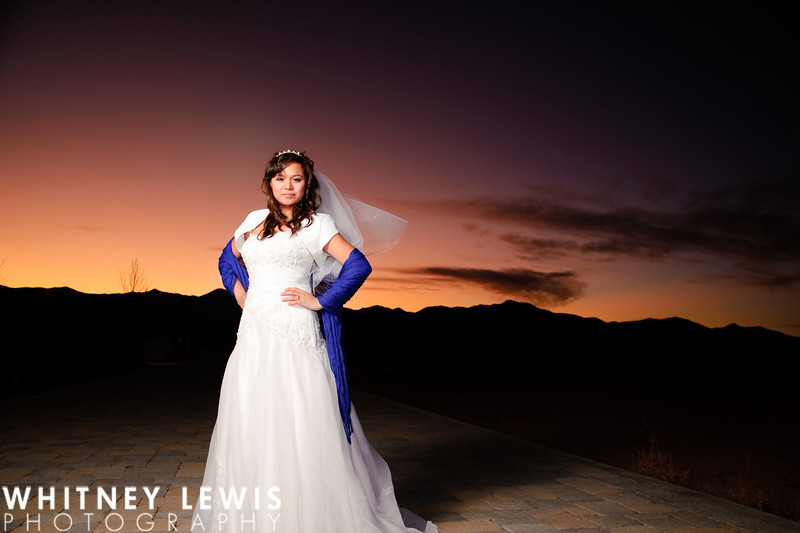 Bridal session in West Jordan, Utah