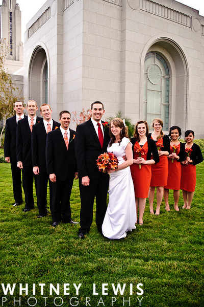 Redlands temple wedding photography, California