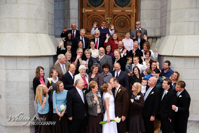 Laura and Jacob Parry- Salt Lake Temple Photography