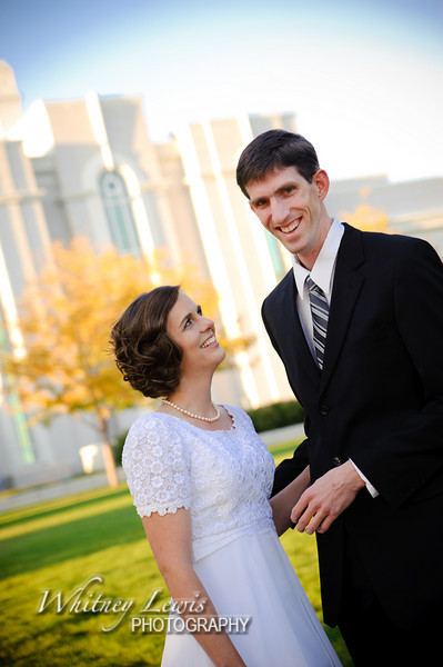 Utah Bridal Photography at Mt Timpanogos Temple