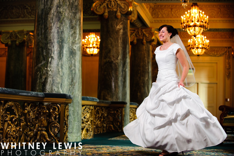 Utah Bridals, Joseph Smith Memorial Building, Utah Lake