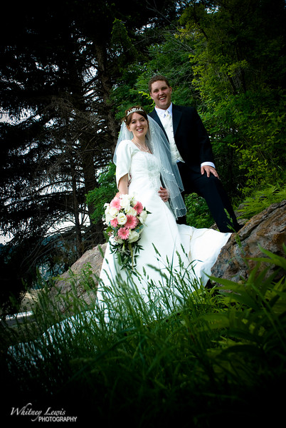 Utah Wedding Photography for Aj and Jeanne Davis at Manti Utah