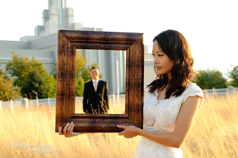 Utah Wedding Photography for Sarah and Jay Tyau at Mt Timpanogos Temple