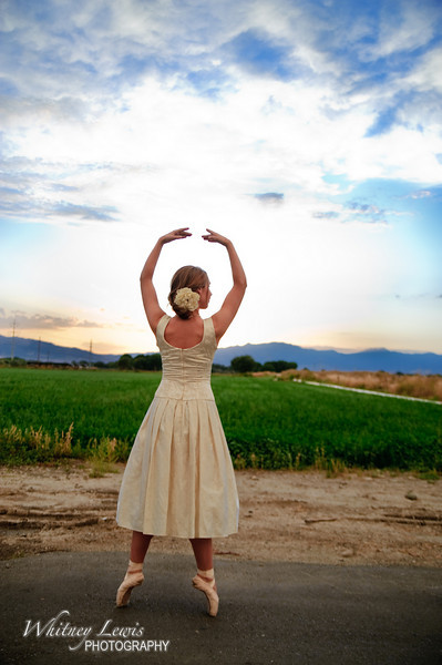 Ballerina Bridal Photography featuring Jordan Metcalf in American Fork Utah