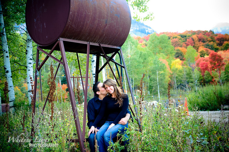 Utah engagement photos with Kelsey and Alec on the Alpine Loop
