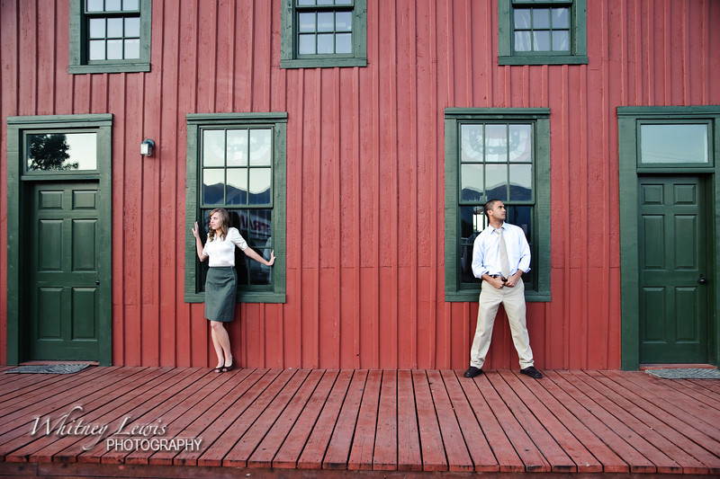 Utah Engagement Pics featuring LJ and Kaylee in Lehi UT