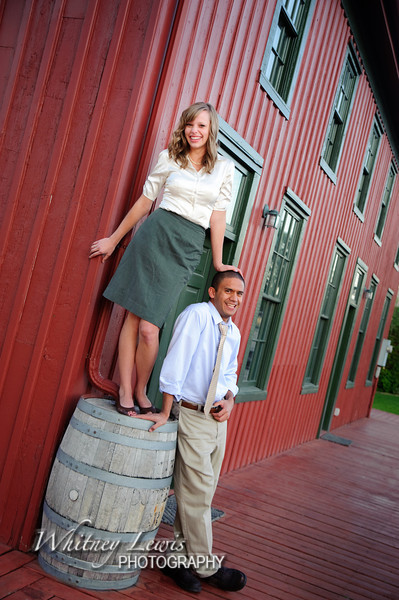 Engagement Photos with LJ and Kaylee in Lehi, Utah