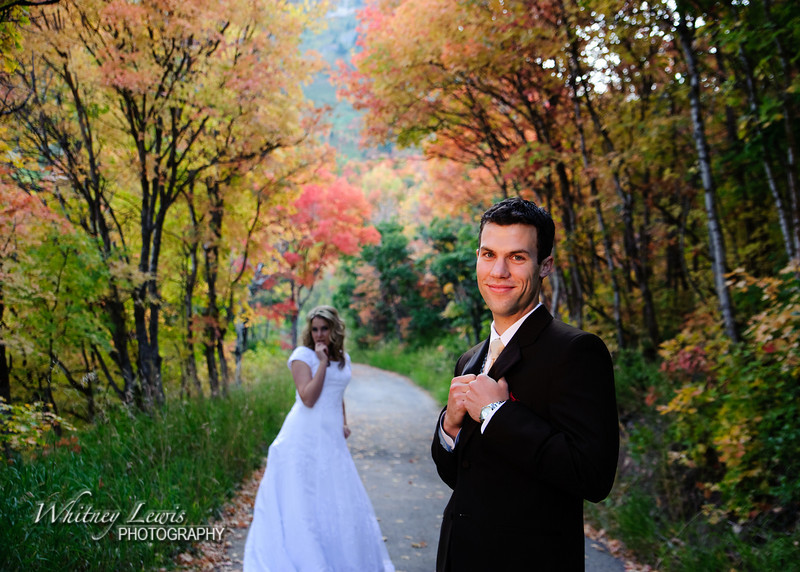 Bride and Groom shoot in Sundance, UT; Alexis and Alan